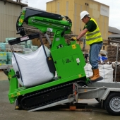CED-Natural stone.4h - Open day - Pic.5+ - Bag on trailer ramp - Cleaned up.July16