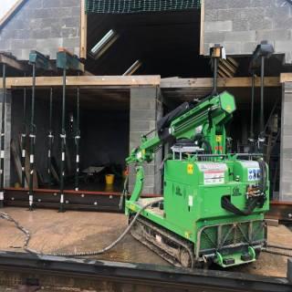 430kg-Steel-Beam-Installation-in-Salisbury