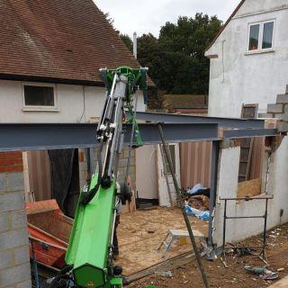 Heavy-Steel-Beam-Installation-in-Hertfordshire