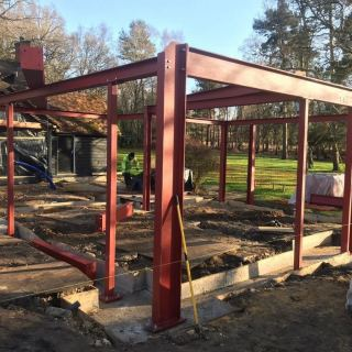 Heavy-Steel-Frame-Installation-in-Farnham3