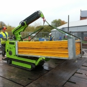 In action.19o - Canal trust - Safety fencing lift.Oct15