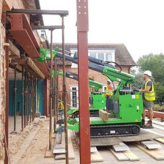 Huge-Three-Steel-Beam-Installation-in-Kingston-upon-Thames4