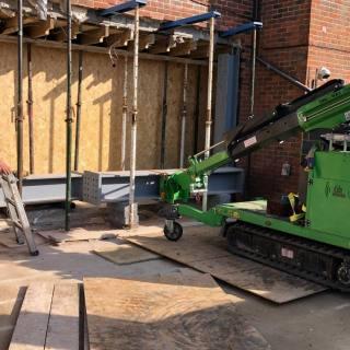 Large-Goal-Post-Steel-Frame-Installation-in-Newbury3