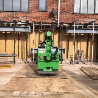 Large-Goal-Post-Steel-Frame-Installation-in-Newbury5
