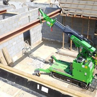 Move-and-Install-of-Steel-Beams-for-a-Bungalow-Rebuild1