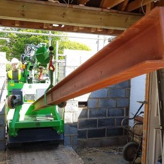 Move-and-Install-of-Steel-Beams-for-a-Bungalow-Rebuild2