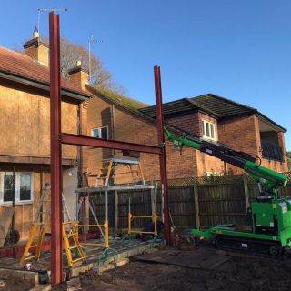 Several-Steel-Beam-Installation-in-Oundle1