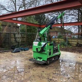 Steel-Beam-Portal-Frame-Installation-in-Farnham