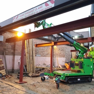 how to easily install steel beam frame with the hooka steel beam lifter