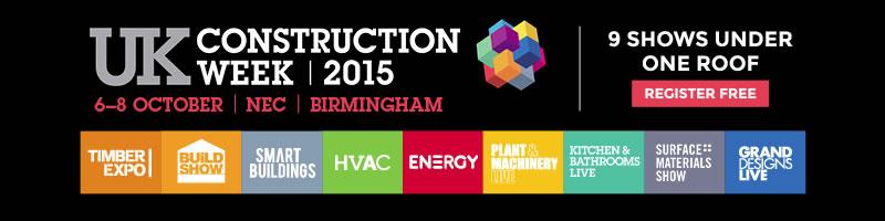 UK Construction Week 2015