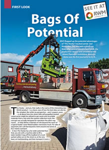 Bags of Potential - Municipal Vehicle Operator and Plant Review