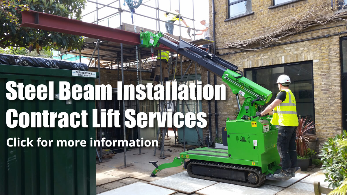 Steel Beam Installation Contract Lift Services Click for more information