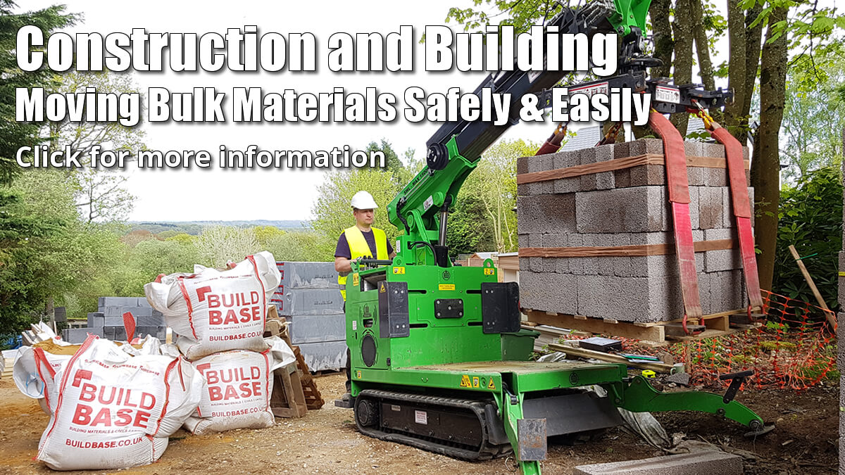 Construction and Building, Moving Bulk Materials Safely and Easily - Click for more information