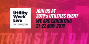 We're exhibiting at Utility Week Live 2019 Utilities Event