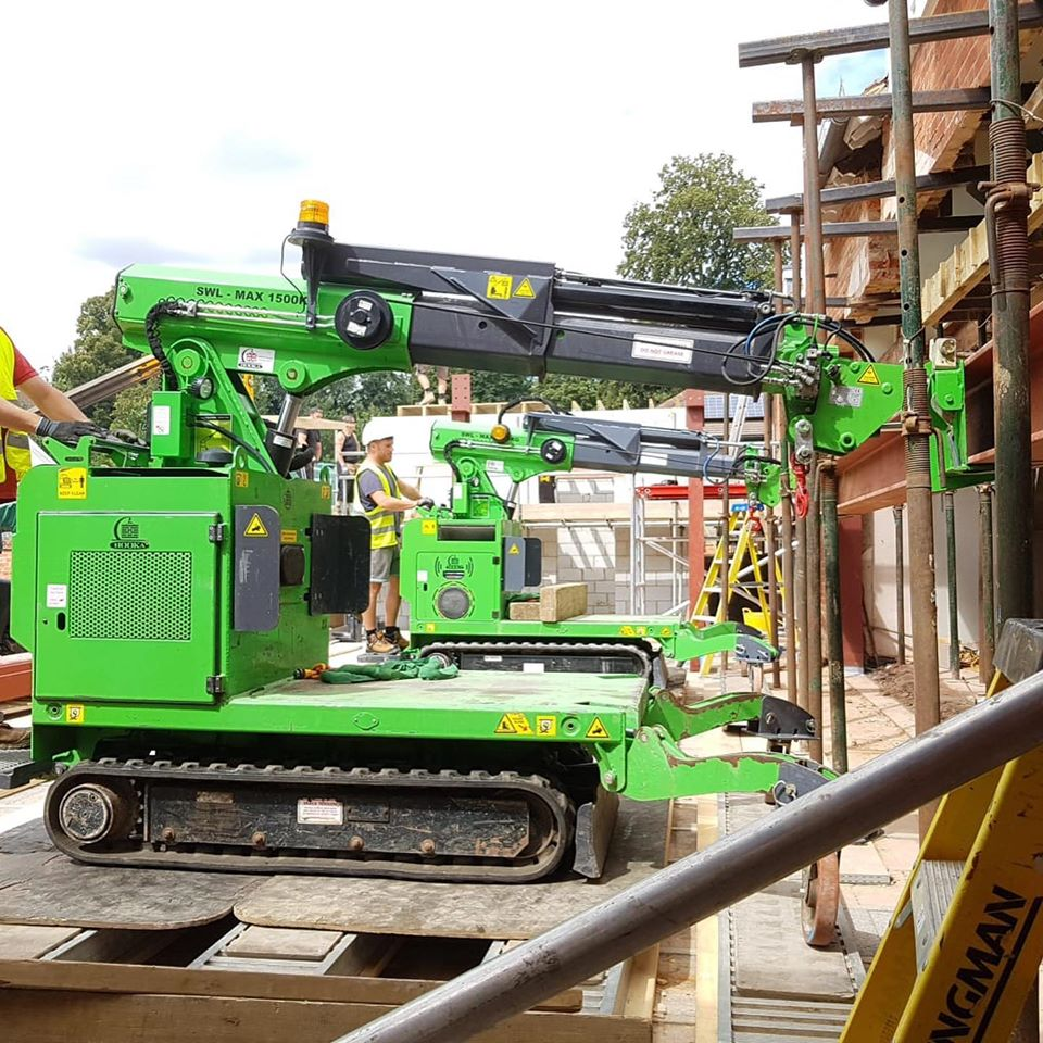 Huge Three Steel Beam Installation in Kingston upon Thames
