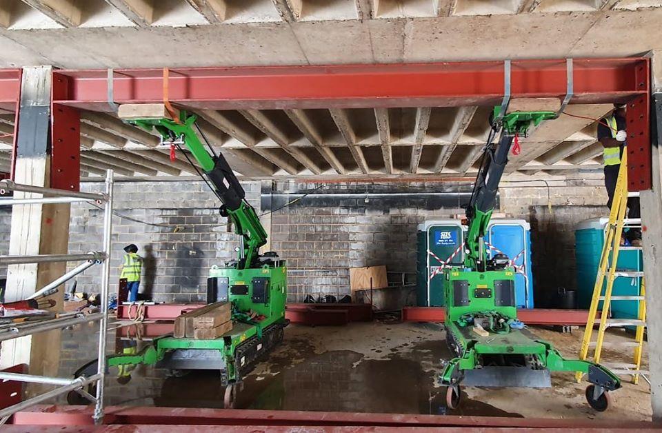 Installing Heavy Steel Beams in Kingston Upon Thames