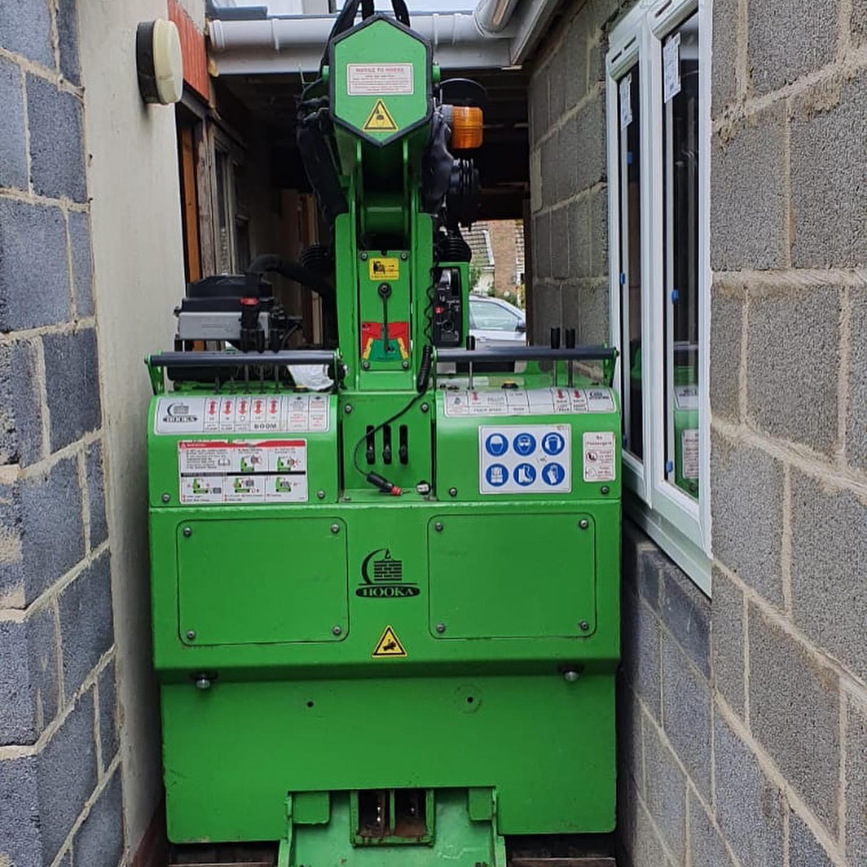 Tight Steel Beam Installation in Norfolk